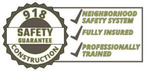 918 Construction Safety Guarantee
