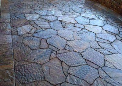 Stone Patio Detail