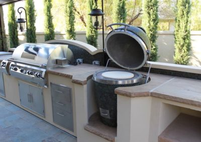 Outdoor Grill Cooking
