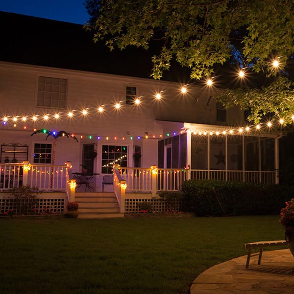 Landscape Lighting Tulsa - Rope Lights