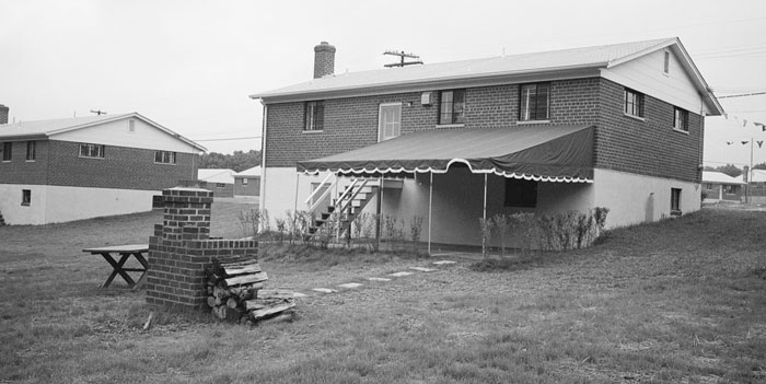 Covered Patio From 1950s