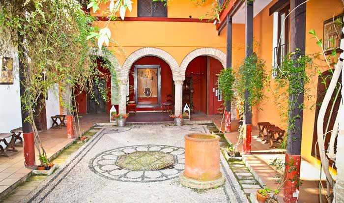 Old Spanish Patio Covered